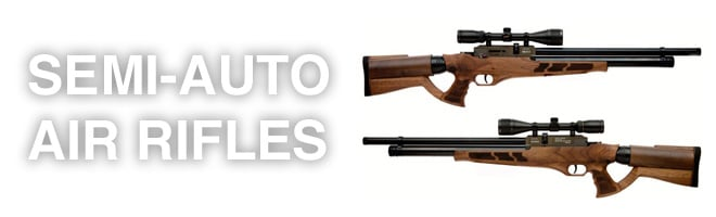 semi automatic air rifles