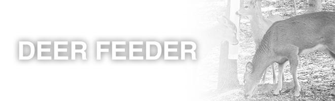 deer hunting feeders