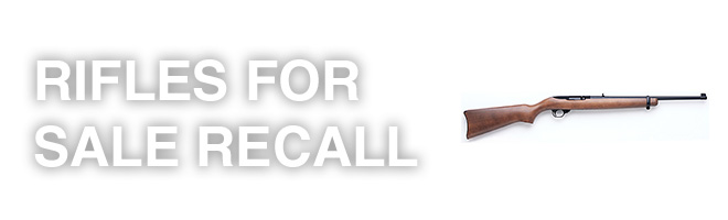 recall on rifles for sale