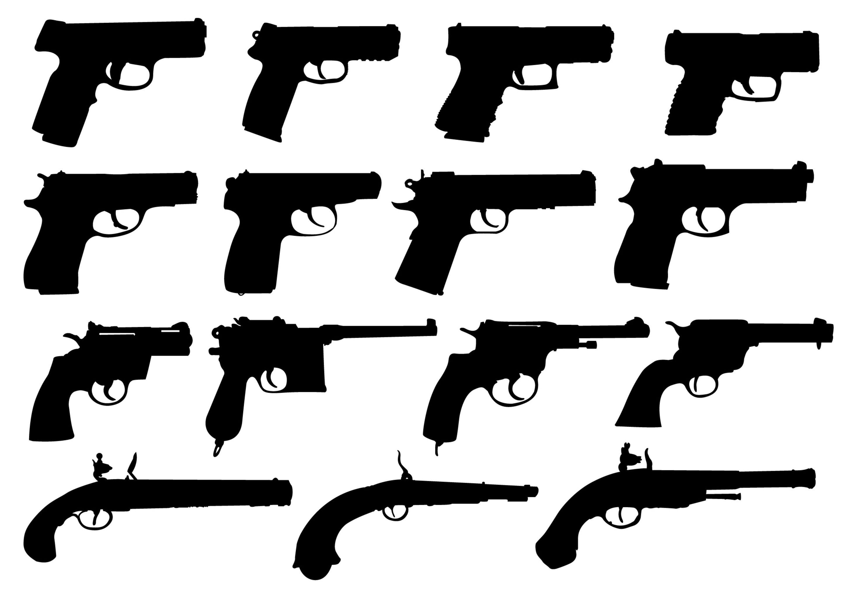 Pistols and handguns